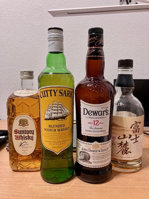 1000円台のウイスキー